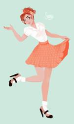 sweet 50s by shinjiiru