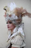 Stock - Baroque Swan Lady portrait 5 by S-T-A-R-gazer