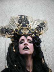 Stock - Vampire queen golden headdress 2 by S-T-A-R-gazer