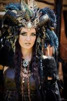 Stock - Dark Faun gothic Fantasy Frontview by S-T-A-R-gazer