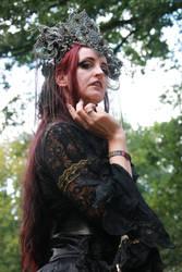 Stock - gothic fantasy woman female vampire 2 by S-T-A-R-gazer