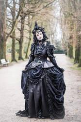 Stock - Gothic lady dark fantasy baroque 2 by S-T-A-R-gazer