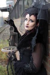 Stock - Dark sad autumn melancholie Cage 7 by S-T-A-R-gazer