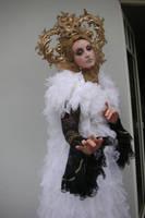 Stock - Golden Headress gothic romantic 2 by S-T-A-R-gazer