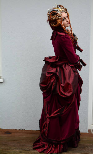 Stock - Victorian queen romantic pose by S-T-A-R-gazer