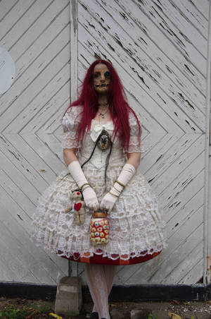 Stock - Voodoo puppet doll halloween stand pose 4 by S-T-A-R-gazer