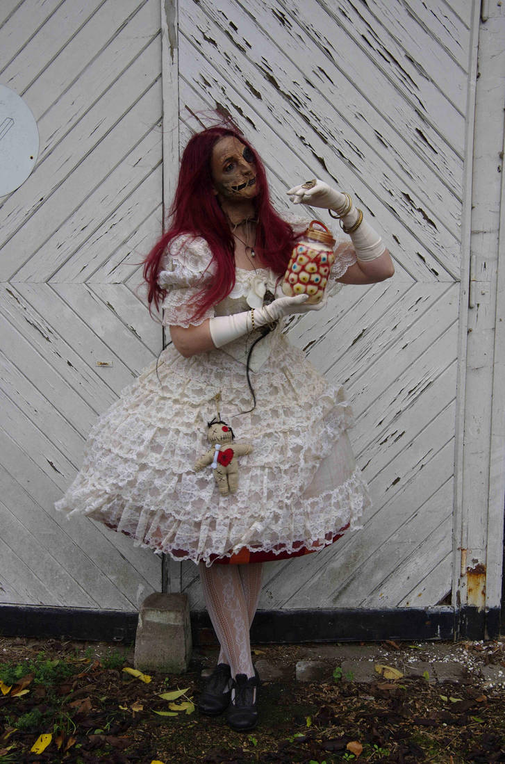 Stock - Voodoo puppet doll halloween stand  pose 8 by S-T-A-R-gazer
