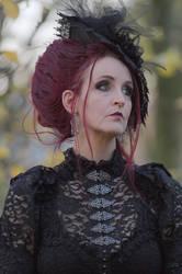Stock - Gothic lady portrait romantic by S-T-A-R-gazer