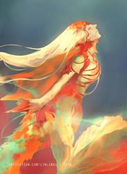 Golden Fish by akevikun