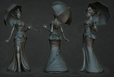 Lady sculpt1 by stalsky