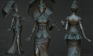 Lady sculpt2 by stalsky