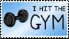 Gym Stamp by PurpleAmharicCoffee