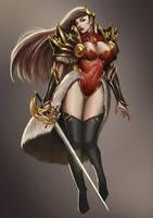 Female Knight by dante2906