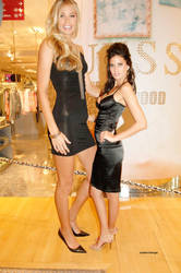Tori Praver minigts with tiny Adriana Lima by SizeExchange