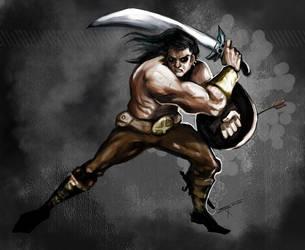 Big Warrior by deadinsane