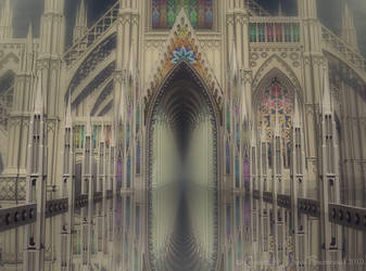 Water cathedral by nahojis