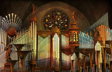Asymmetrical Organ by nahojis
