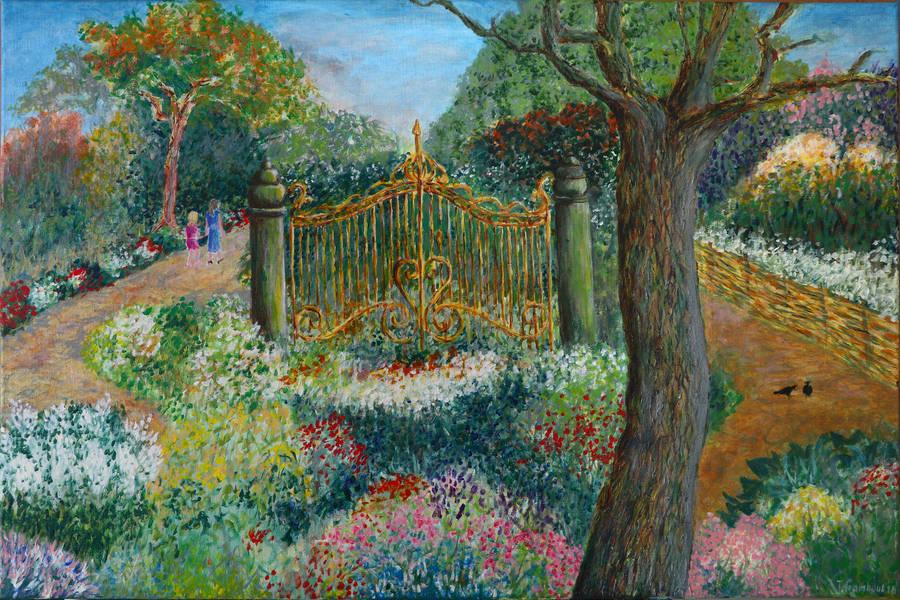 Timeless garden by nahojis