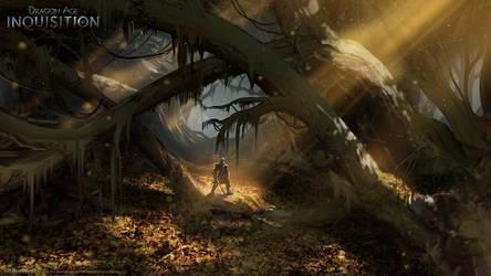DA:I - Forest by MattRhodesArt