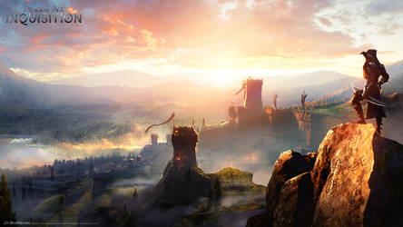 DA:I - Sunrise by MattRhodesArt