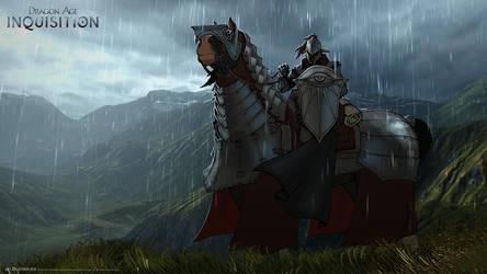 DA:I -War Horse by MattRhodesArt