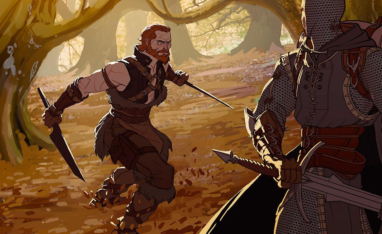 Heroes by MattRhodesArt