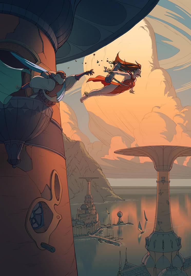 Leap by MattRhodesArt
