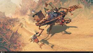 ILM Art Department Challenge: The Ride - Turtle by MattRhodesArt