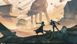 ILM Art Department Challenge: The Job - Twelve! by MattRhodesArt
