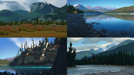 Jasper Studies by MattRhodesArt