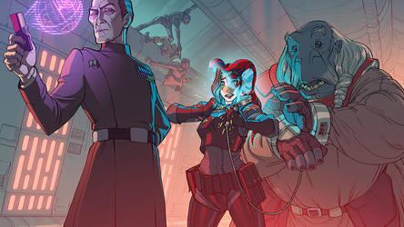 Alternate Rogue One by MattRhodesArt