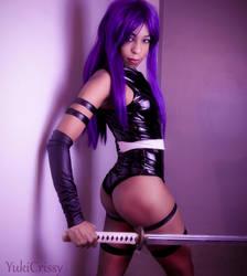Psylocke Cosplay by yukicrissy