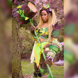 Leafeon cosplay by yukicrissy
