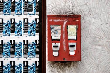 Kaugummiautomat Alsfeld by Socratim