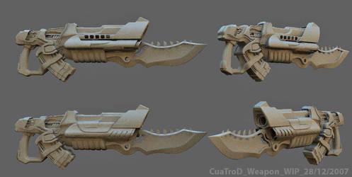 marine weapon by cuatrod