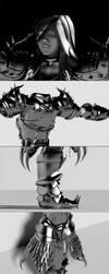 Dragon hunter :D by cuatrod