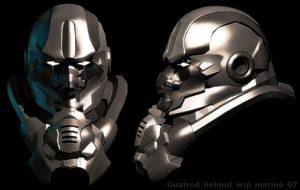 Marine - helmet by cuatrod