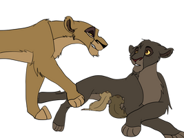 TLK theory - Scar's reign : Part 16 / Sister by Olphey
