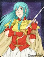 FE8 - The Princess of Renais by levenark