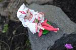 Amaterasu sculpture 2nd by wolfyLRiina
