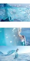 frozen Elsa by 35ryo