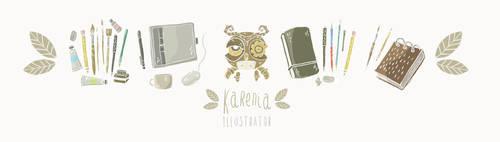 Art Materials by karenia24
