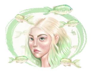 Under Water Heaven by karenia24