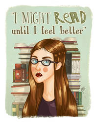 I might read until I feel better... by karenia24