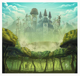 The Eternal City by karenia24