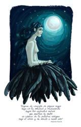 Black Bird by karenia24