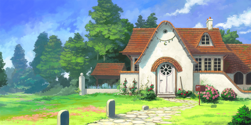 Cottage by Tink29