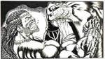 Samson's Showdown by KirqArts