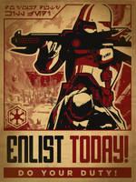 Sith Propaganda Poster for TOR by RoboBen