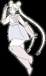 FA:: Sailor Gems - Sailor Crystal Quartz by drazzi